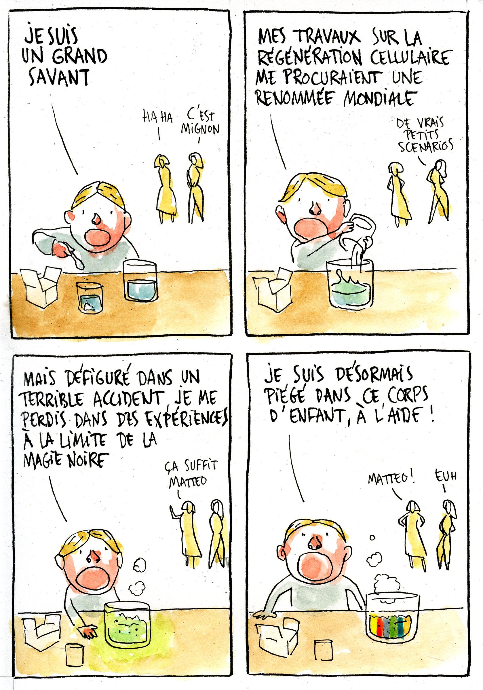 Contrariété #52 – l'enfant chimiste
