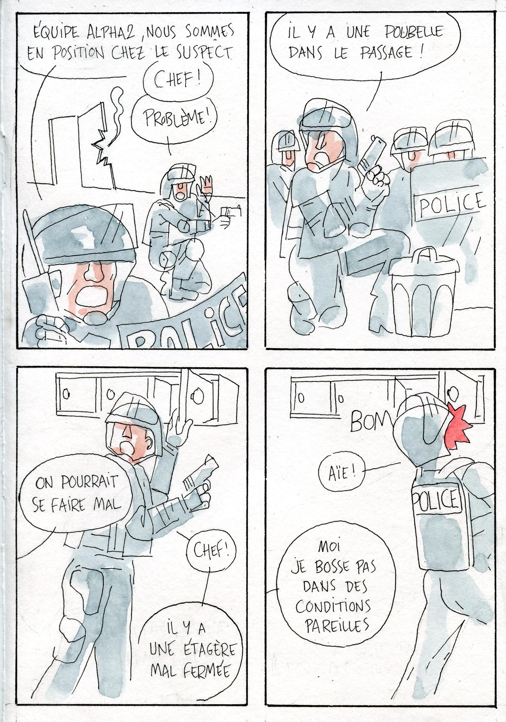 Contrariété #95 – super commando