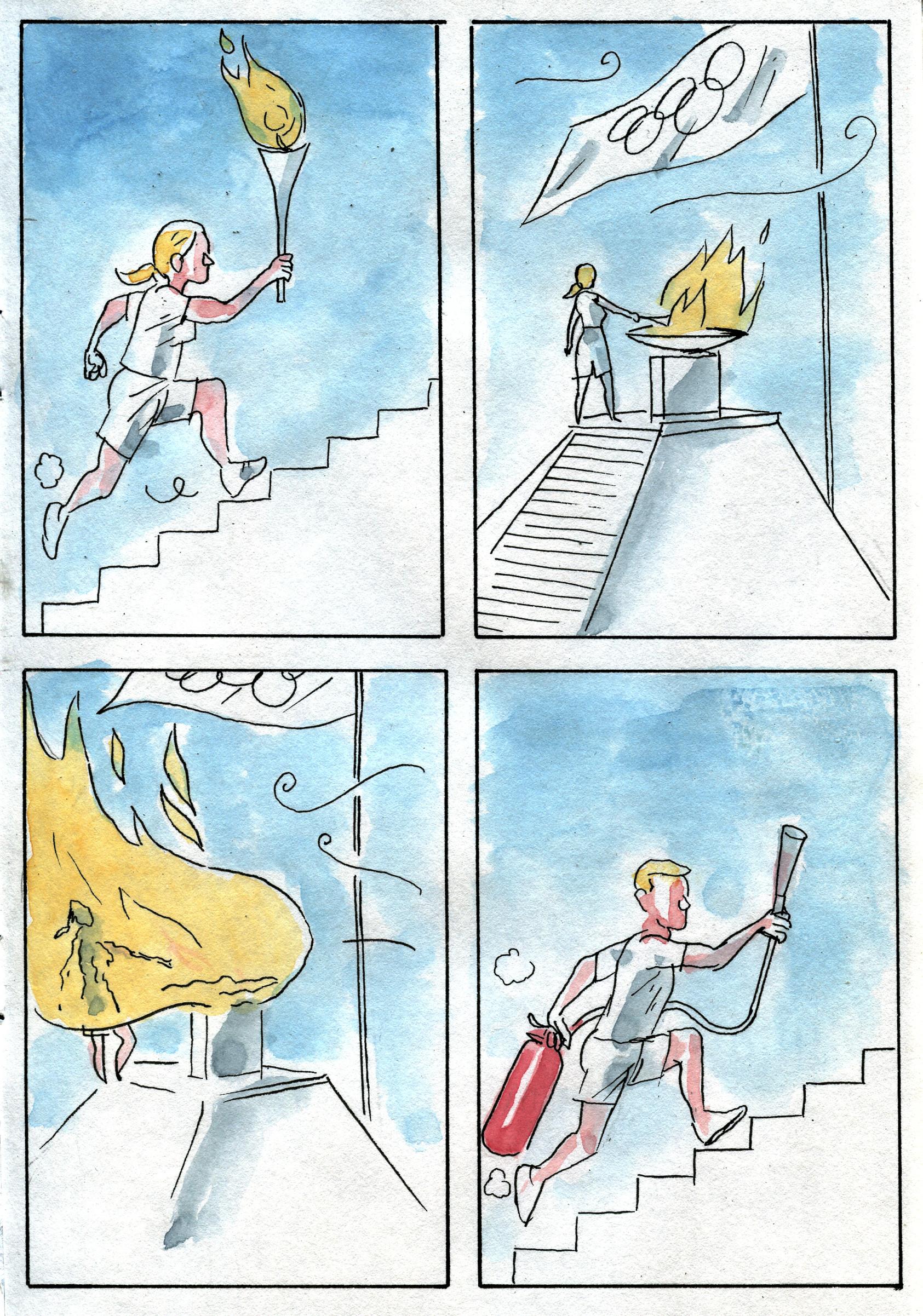 Contrariété #112 – la flamme olympique
