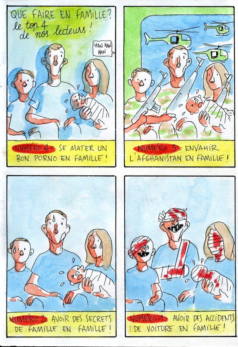 Contrariété #158 – Que faire en famille
