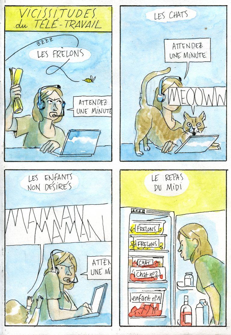 Contrariété #162 – Vicissitudes du télé-travail
